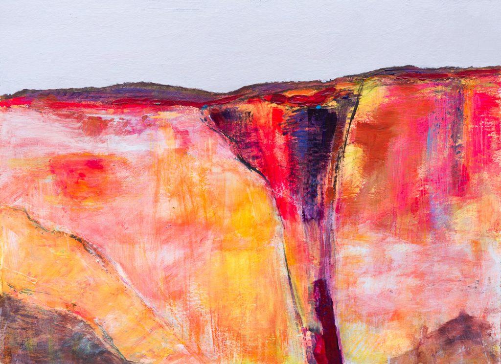 Alison Burt Glowing Landscape