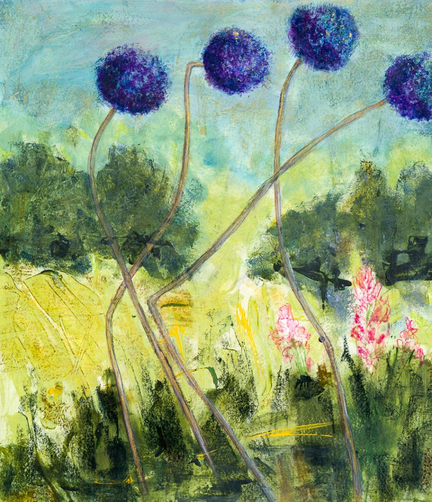 Alison Burt End of the Alliums