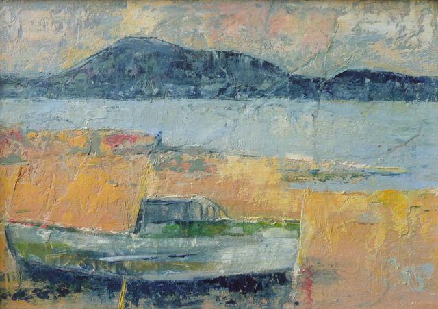 Alison Burt Abandoned Boat
